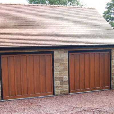 Detatched Double Garage