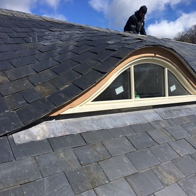 Curved Eye Dormer Windows